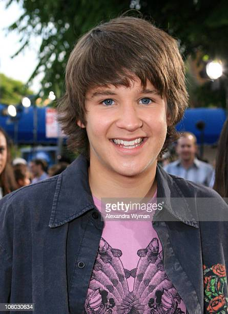 Devon Werkheiser during 'Monster House' Los Angeles Premiere Red Carpet at Mann Village in Westwood California United States
