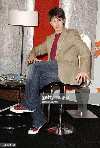 Devon Werkheiser during Nickelodeon's 19th Annual Kids' Choice Awards Press Room at Pauley Pavilion in Westwood California United States