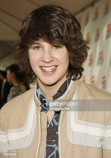 Devon Werkheiser during Nickelodeon's 20th Annual Kids' Choice Awards Orange Carpet at Pauley Pavilion UCLA in Westwood California United States