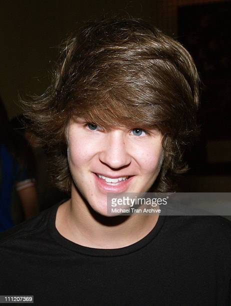 Devon Werkheiser during Platinum Luxury Celebrity Gifting Suite at Le Meridien in Beverly Hills California United States