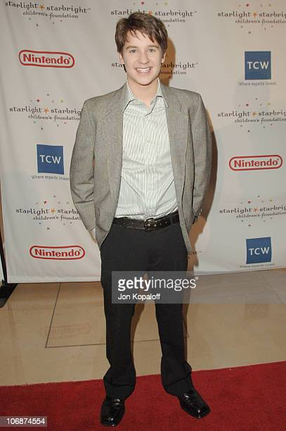 Devon Werkheiser during Starlight Starbright Children's Foundation Honors Dakota Fanning at A Stellar Night Gala Arrivals at Beverly Hilton Hotel in...