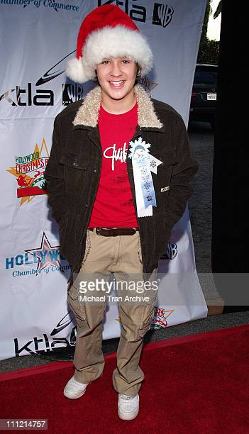 Devon Werkheiser during The 74th Annual Hollywood Christmas Parade Arrivals at Hollywood Roosevelt Hotel in Hollywood California United States