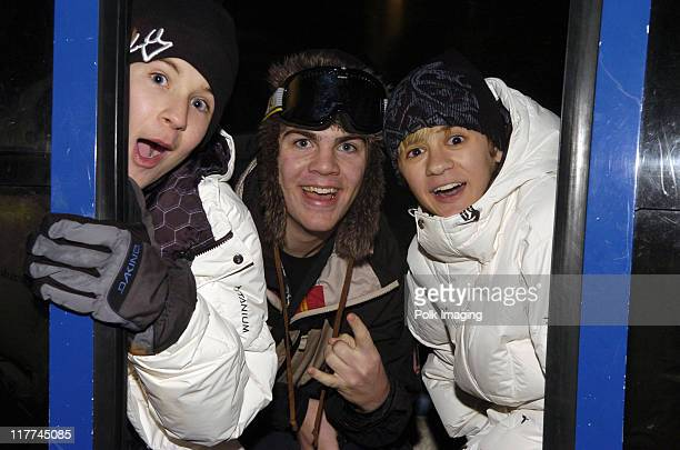 Devon Werkheiser Kyle Swann and Rob Pinkston during 2006 Sundance Film Festival Canyons Resort Red Pines Midpoint Lodge at Red Pines in Park City...