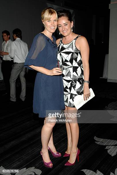 Devon Wilson and Jen Bell attend AMERICAN FRIENDS OF THE LOUVRE'S Young Patrons Circle Soiree au Louvre at Espace on June 24 2008 in New York City