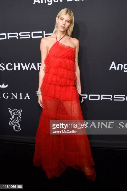 Devon Windsor arrives at the Angel Ball 2019 hosted by Gabrielle's Angel Foundation at Cipriani Wall Street on October 28 2019 in New York City