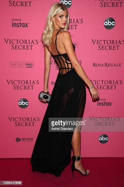 Devon Windsor attend the 2018 Victoria's Secret Fashion Show After Party on November 8 2018 in New York City