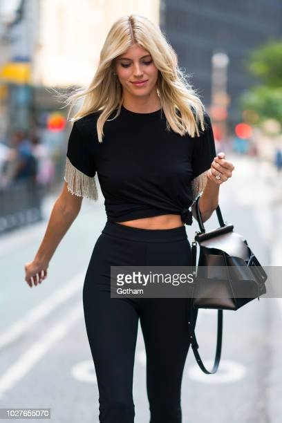 Devon Windsor attends casting for the 2018 Victoria's Secret Fashion Show in Midtown on September 5 2018 in New York City
