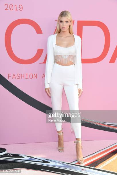 Devon Windsor attends the CFDA Fashion Awards at the Brooklyn Museum of Art on June 03, 2019 in New York City.