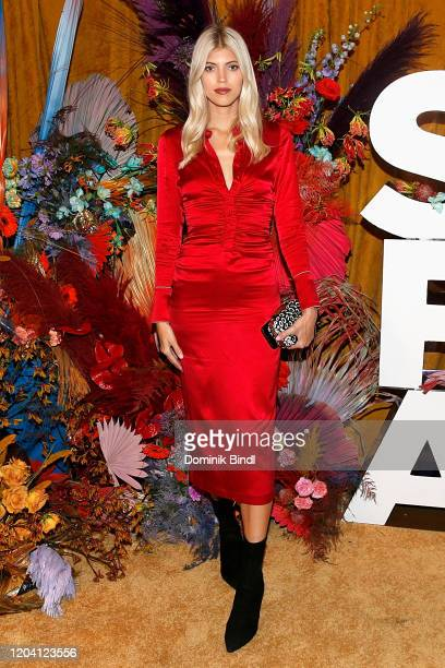 Devon Windsor attends the first anniversary celebration of L'Avenue at Saks on February 04 2020 in New York City