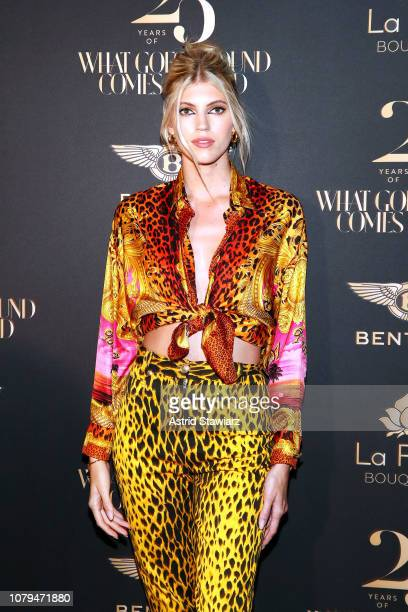 Devon Windsor attends What Goes Around Comes Around 25th Anniversary Celebration At The Versace Mansion With a Retrospective Tribute To Gianni...