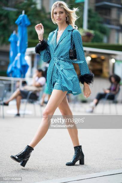 Devon Windsor is seen in the Flatiron District on August 23 2018 in New York City