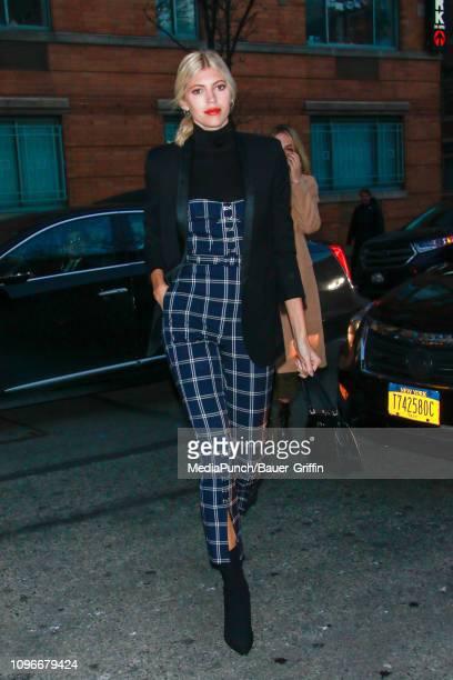 Devon Windsor is seen on February 09 2019 in New York City