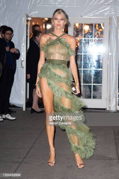 Devon Windsor outside the amFAR Gala held at Cipriani Wall St on February 5 2020 in New York City
