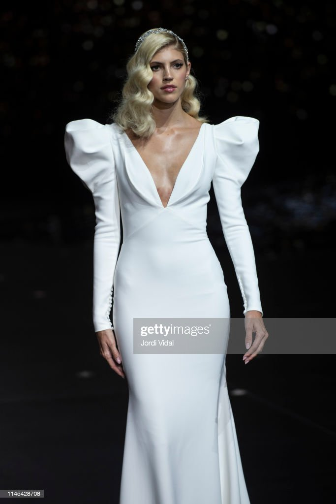 Pronovias - Rehearsal - Valmont Barcelona Bridal Fashion Week 2019 : News Photo