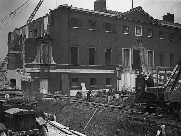 Demolishing devonshire house pictures getty images for The devonshire house