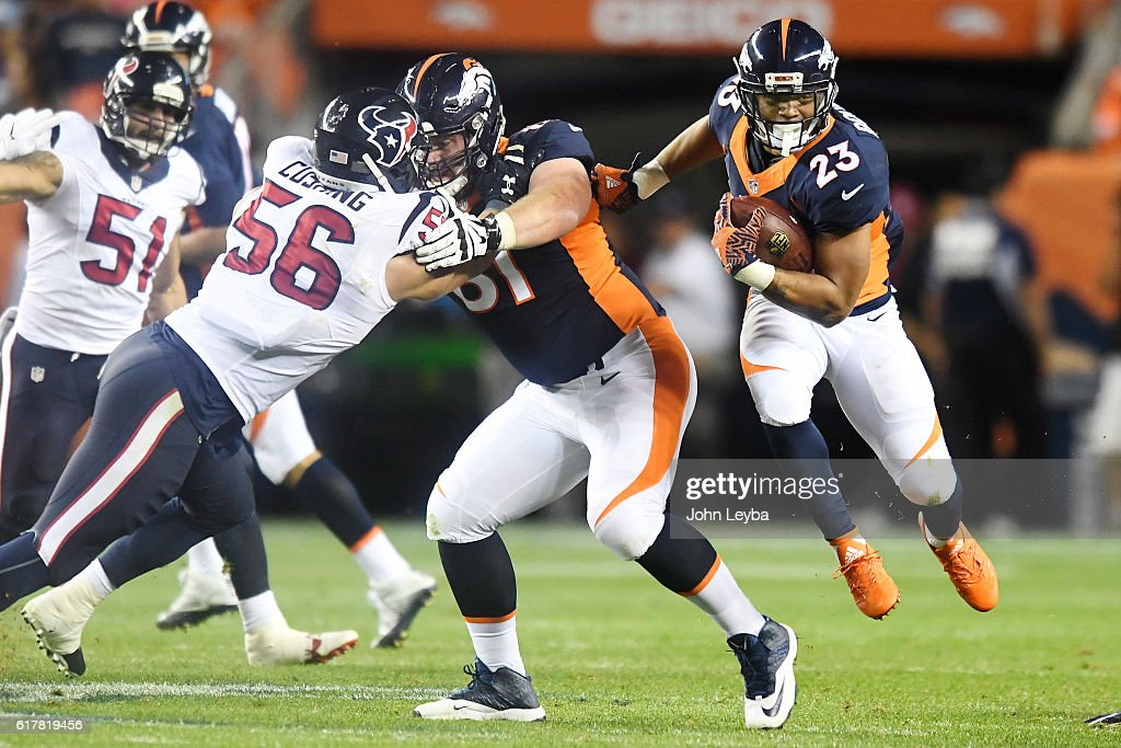 Denver Broncos vs. Houston Texans, NFL Week 7 : News Photo