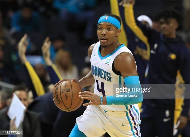 Devonte' Graham of the Charlotte Hornets during their game at Spectrum Center on November 05 2019 in Charlotte North Carolina NOTE TO USER User...