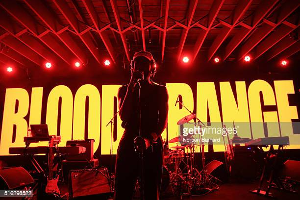 Devonte Hynes of Blood Orange performs on stage at YouTube At Coppertank during the 2016 SXSW Music Film Interactive Festival on March 17 2016 in...