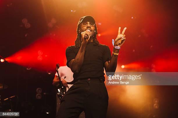 Devonte Hynes of Blood Orange performs on the Avalon stage during Roskilde Festival 2016 on June 30, 2016 in Roskilde, Denmark.