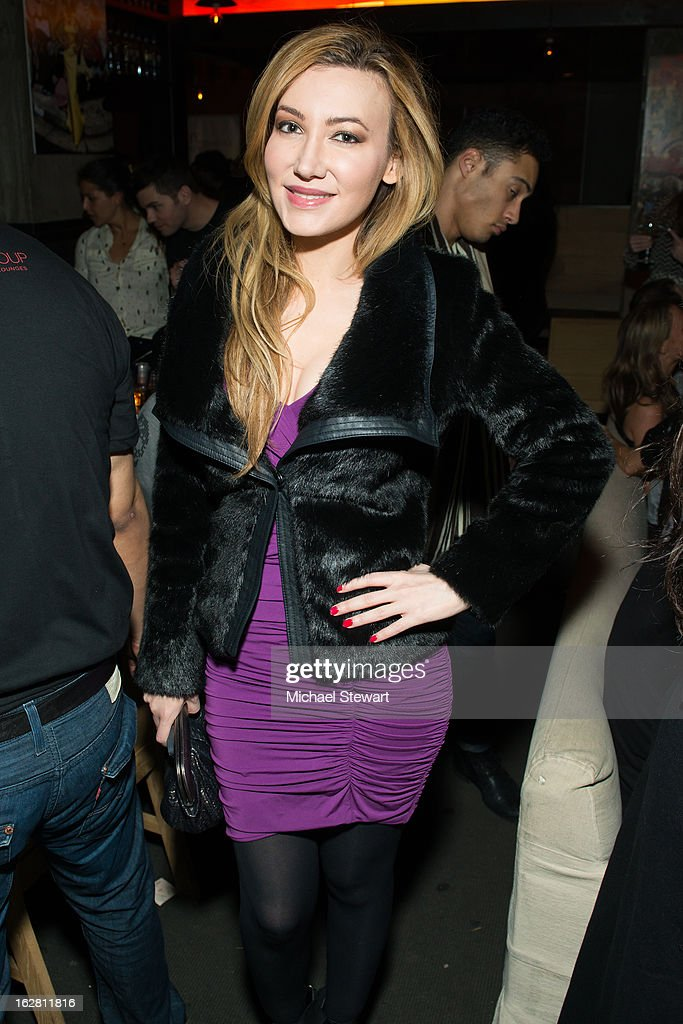 Devorah Rose attends The ONE Group's Ristorante Asellina celebrates two years on Park Avenue South NYC at Ristorante Asselina on February 27, 2013 in New York City.
