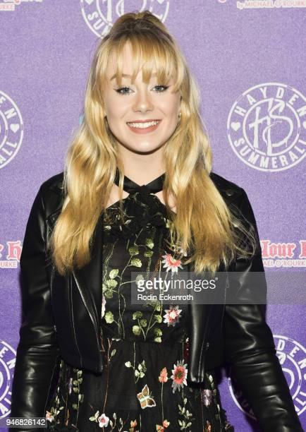 Devore Ledridge attends Hayden Summerall's 13th Birthday Bash at Bardot on April 15 2018 in Hollywood California