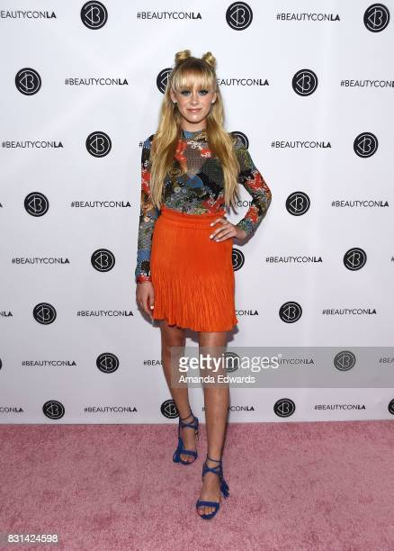DeVore Ledridge attends the 5th Annual Beautycon Festival Los Angeles at the Los Angeles Convention Center on August 13 2017 in Los Angeles California