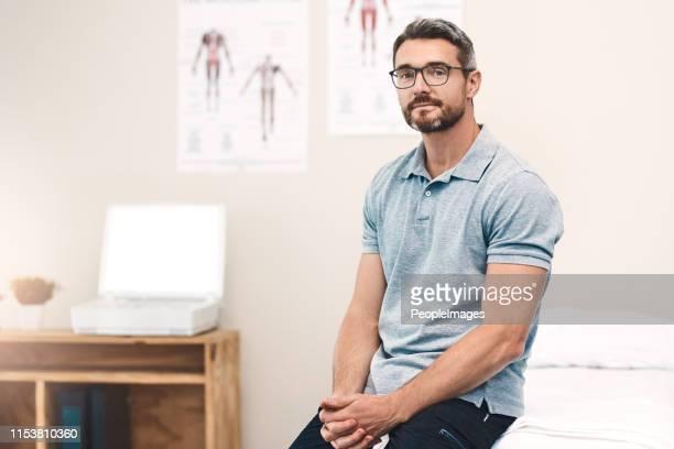 consacré à la santé de mon patient - liberté photos et images de collection