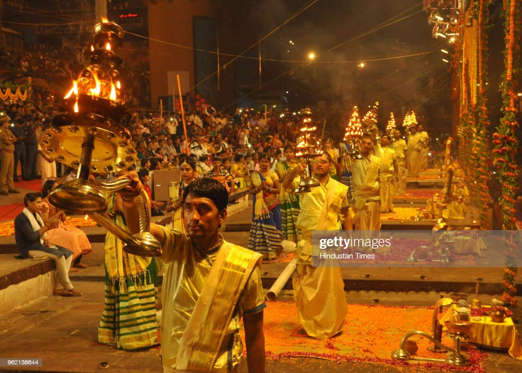 Devotees Take Bath In Ganga In Varanasi On Occasion Of Ganga Dussehra