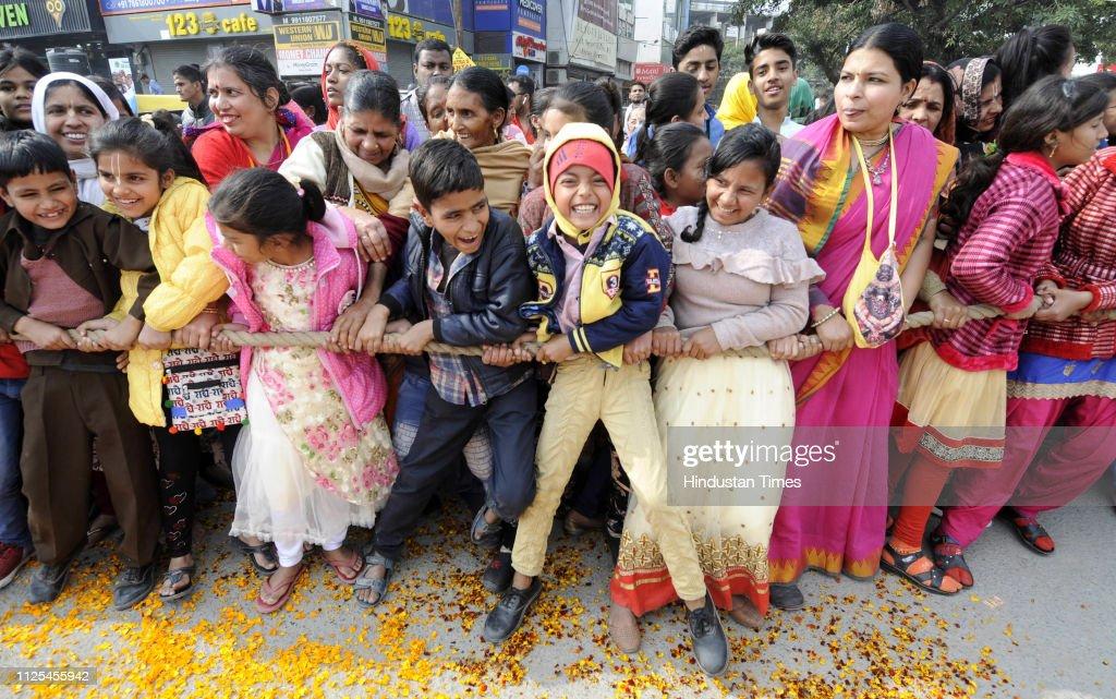 IND: Jagannath Rath Yatra Organised in Noida