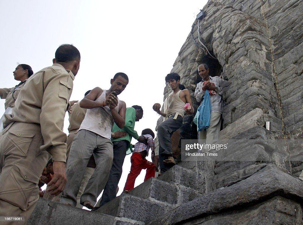Shankar-Acharya Temple In Srinagar : News Photo