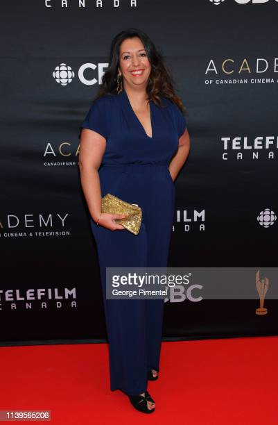 Devyani Saltzman attends the 2019 Canadian Screen Awards Broadcast Gala at Sony Centre for the Performing Arts on March 31 2019 in Toronto Canada