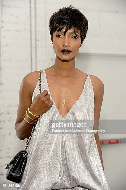 Devyn Abdullah attends the Kota Sustainable Style Fashion Awards at The Garage By Kenneth Cole on May 25 2016 in New York City