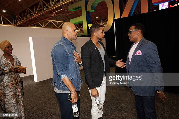 DeWanda Wise Anthony Hemingway Alano Miller and Charlie Wilson attend Day 2 of the 2016 Essence Festival at Ernest N Morial Convention Center on July...
