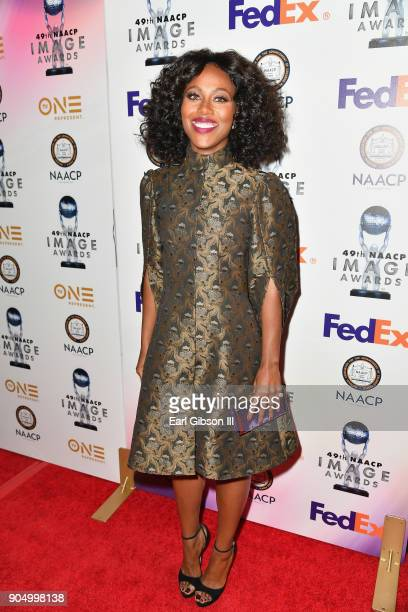 DeWanda Wise at the 49th NAACP Image Awards NonTelevised Awards Dinner at the Pasadena Conference Center on January 14 2018 in Pasadena California