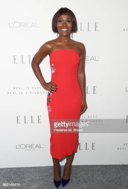 DeWanda Wise attends ELLE's 24th Annual Women in Hollywood Celebration at Four Seasons Hotel Los Angeles at Beverly Hills on October 16 2017 in Los...