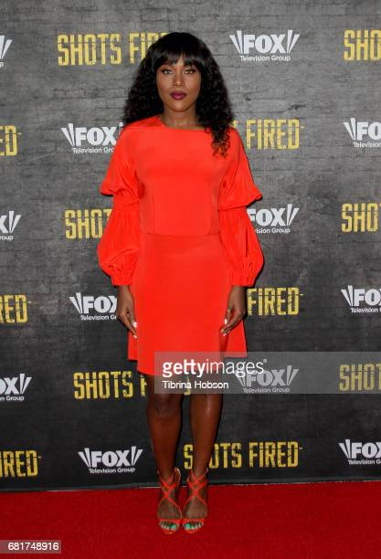 DeWanda Wise attends Fox's 'Shots Fired' FYC event at Saban Media Center on May 10 2017 in North Hollywood California