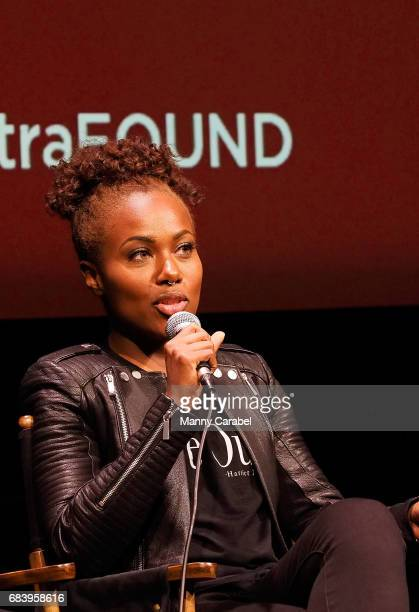 DeWanda Wise attends SAGAFTA Foundation Coversations with Aisha Hinds Alano Miller Amirah Vann and DeWanda Wise of 'Underground' at SAGAFTRA...