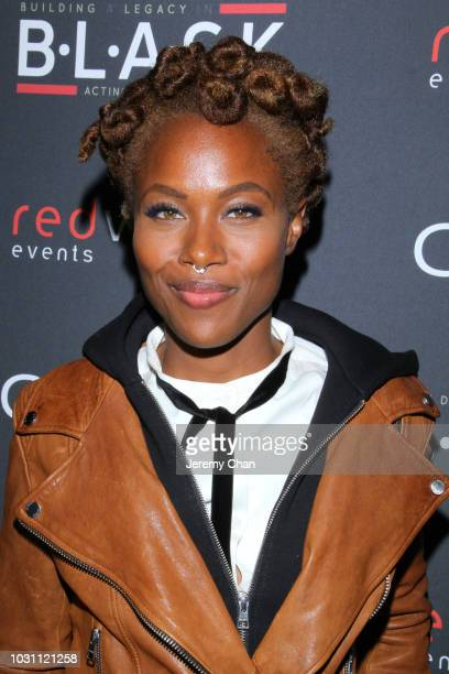 DeWanda Wise attends Stephan James And Shamier Anderson Host Third Annual BLACK Ball at TIFF Bell Lightbox on September 10 2018 in Toronto Canada