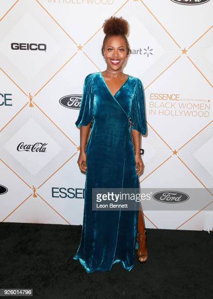 DeWanda Wise attends the 2018 Essence Black Women In Hollywood Oscars Luncheon at Regent Beverly Wilshire Hotel on March 1 2018 in Beverly Hills...
