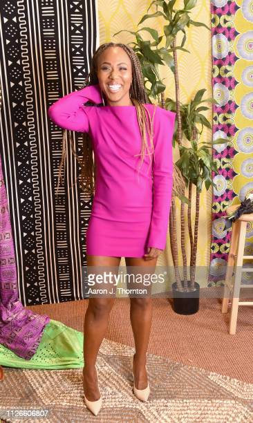DeWanda Wise attends the 2019 Essence Black Women in Hollywood Awards Luncheon at Regent Beverly Wilshire Hotel on February 21 2019 in Los Angeles...