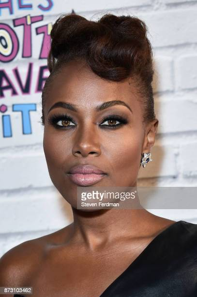 DeWanda Wise attends the Netflix Original Series 'She's Gotta Have It' Premiere at Brooklyn Academy of Music on November 11 2017 in New York City