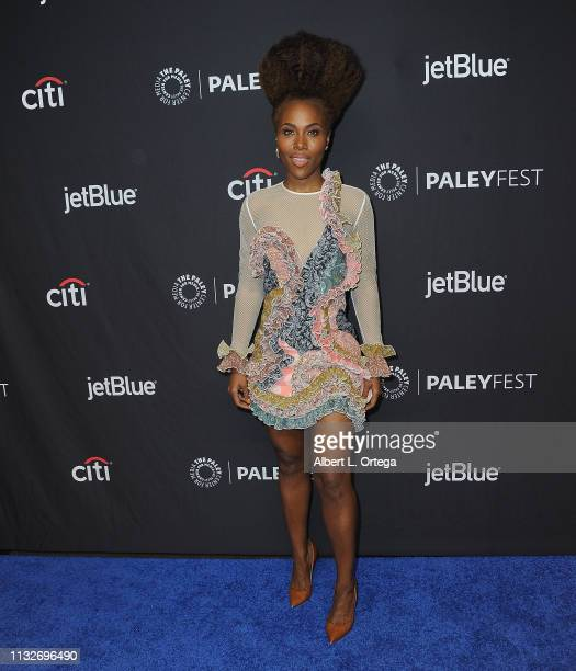 DeWanda Wise attends The Paley Center For Media's 2019 PaleyFest LA Star Trek Discovery And The Twilight Zone held at Dolby Theatre on March 24 2019...