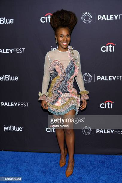 DeWanda Wise attends The Paley Center for Media's 2019 PaleyFest LA 'Star Trek Discovery' and 'The Twilight Zone' at Dolby Theatre on March 24 2019...