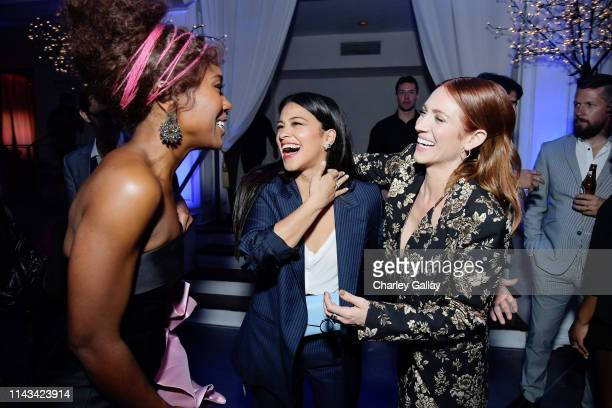 DeWanda Wise Gina Rodriguez and Brittany Snow attend Netflix Special Screening Of Someone Great at ArcLight Cinemas on April 17 2019 in Culver City...