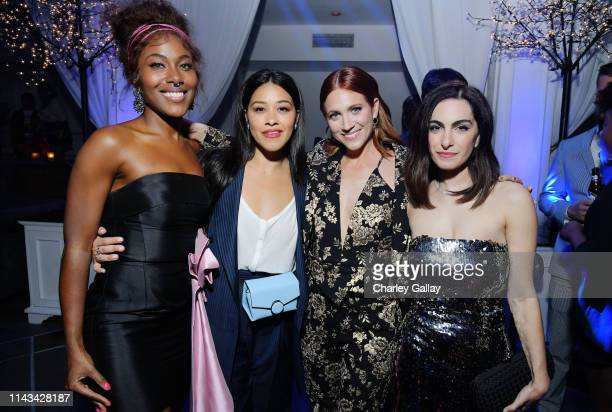 DeWanda Wise Gina Rodriguez Brittany Snow and Writer and Director Jennifer Kaytin Robinson attends Netflix Special Screening Of Someone Great at...