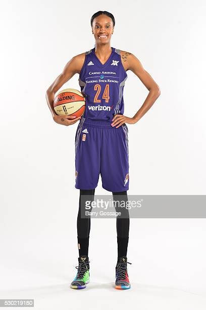 Dewanna Bonner of the Phoenix Mercury poses for a portrait during Media Day on May 9 2016 at the Talking Stick Resort Arena in Phoenix Arizona NOTE...