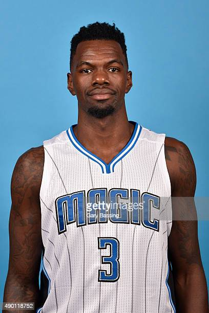 Dewayne Dedmon of the Orlando Magic poses for a headshot during NBA Media Day on September 25 2015 at Amway Center in Orlando Florida NOTE TO USER...