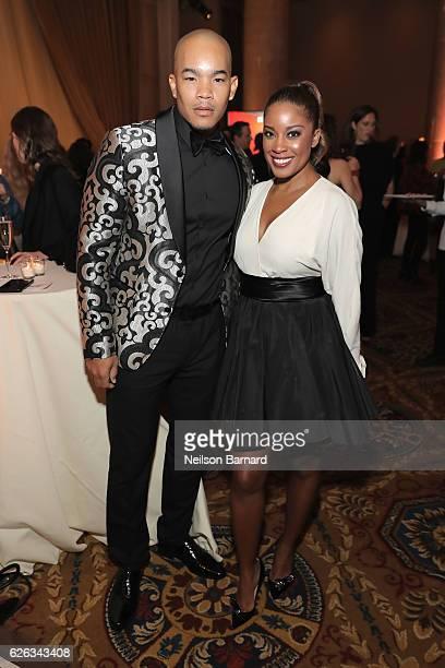 DeWayne Turrentine and Reagan GomezPreston attend IFP's 26th Annual Gotham Independent Film Awards at Cipriani Wall Street on November 28 2016 in New...