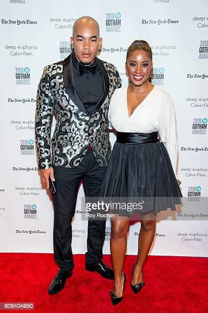 DeWayne Turrentine and Reagan GomezPreston attend the 26th Annual Gotham Independent Film Awards at Cipriani Wall Street on November 28 2016 in New...