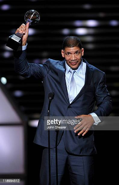 Dewey Bozella accepts the Arthur Ashe Courage Award onstage at The 2011 ESPY Awards held at the Nokia Theatre LA Live on July 13 2011 in Los Angeles...